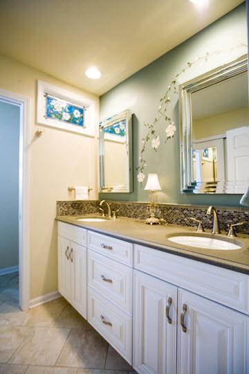 Baths Long Kitchen Bath Design