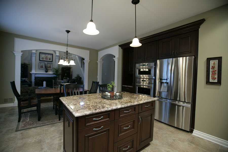 Kitchens Long Kitchen Bath Design